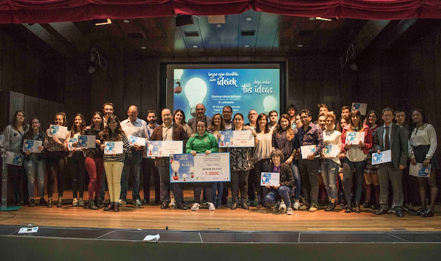 El concurso comarcal de ideas empresariales da cuatro acésit a concursantes barakaldeses