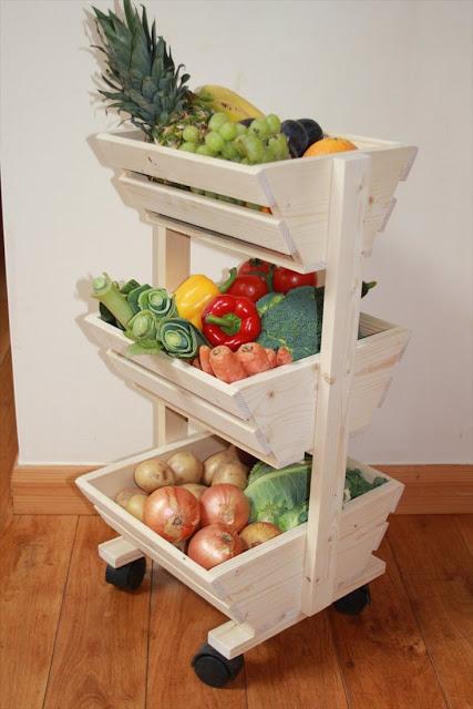 Vegetable Rack For Kitchen