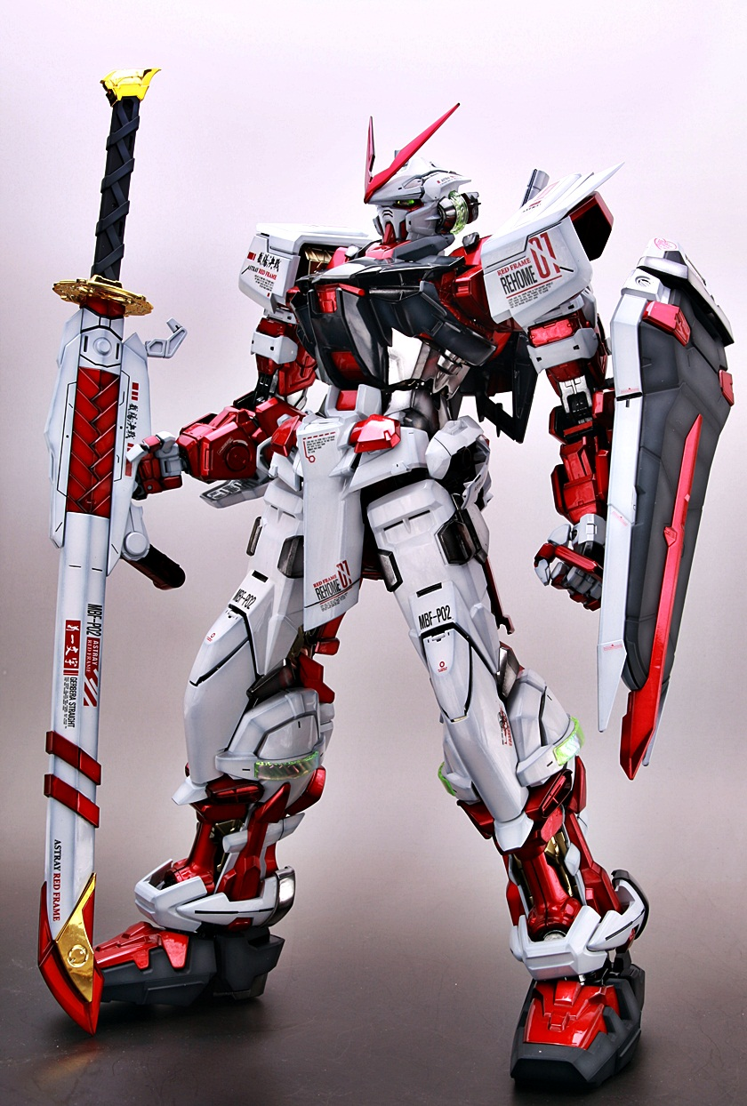 Gundam Guy Pg 1 60 Astray Red Frame Painted Build