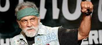 Stoner comic Tommy Chong encouraged his prison cellmate Jordan Belfort to write THE WOLF OF WALL STREET