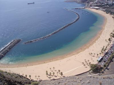 Playa de las Teresitas Teneriffa © Canarian Sea