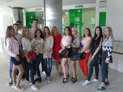 Студенти ХНЕУ ім. С. Кузнеця прийняли участь у Дні Відкритих Дверей БСЦ «САН ІнБев Україна»