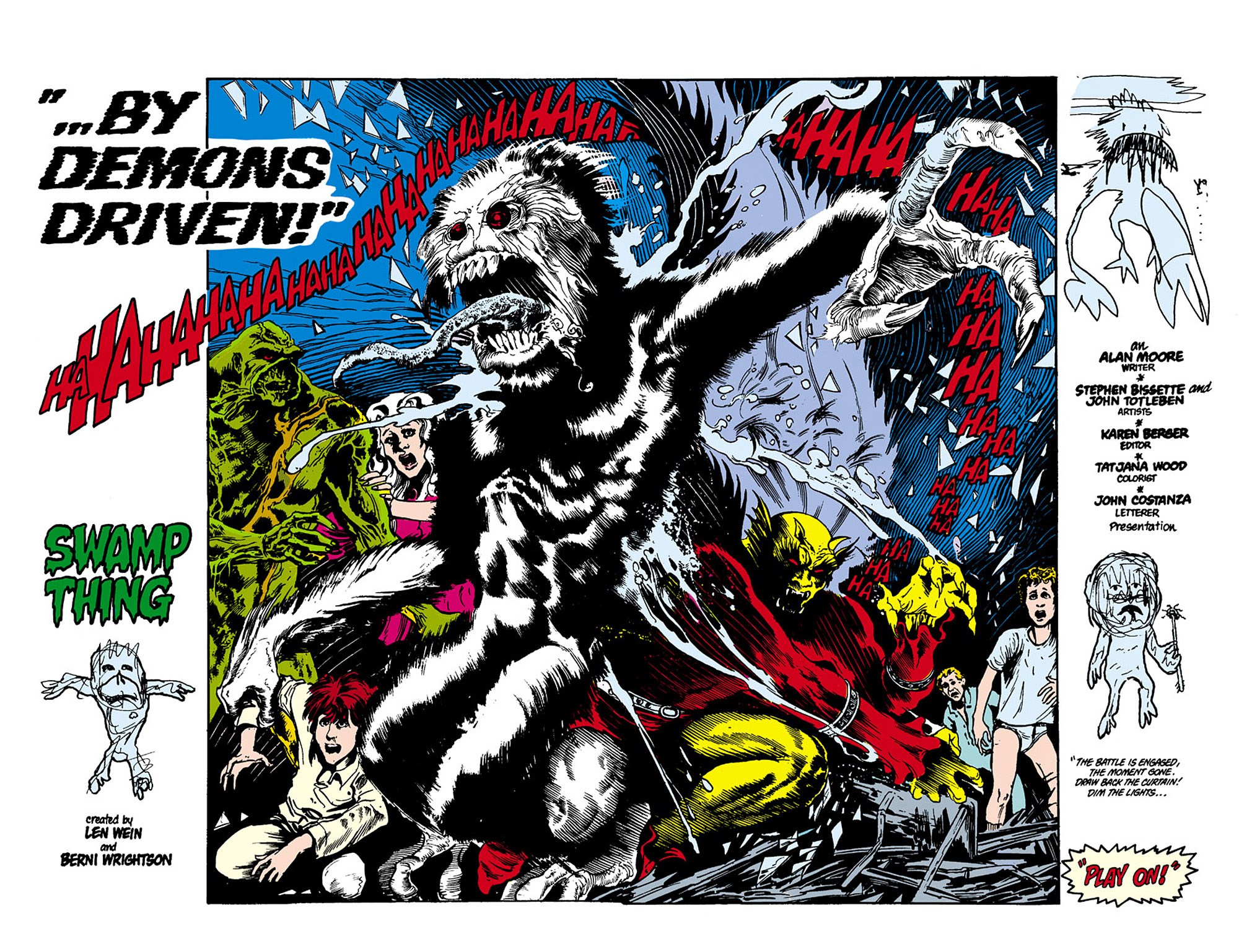 Swamp Thing (1982) Issue #27 #35 - English 3
