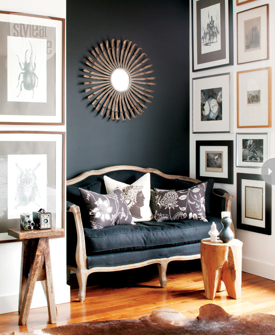Black And Charcoal Gray Paint Colors For Our Home Office