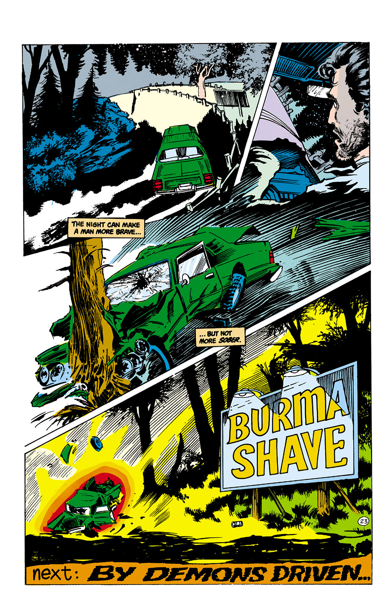 Swamp Thing (1982) Issue #26 #34 - English 23