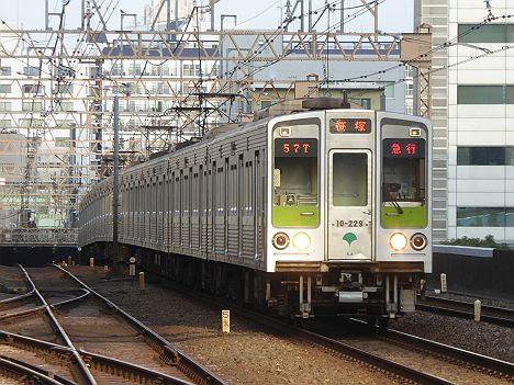 京王電鉄 都営新宿線直通 急行 本八幡行き5 10-000形220F・230F