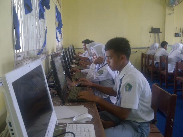1.922 Siswa di Abdya Ikut UN, Enam Sekolah Gunakan Komputer