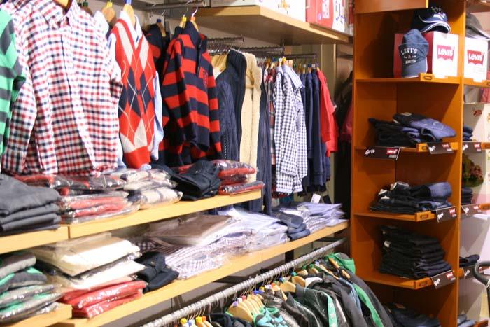 Hình ảnh một Shop quần áo trẻ em