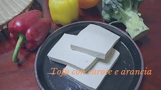 tofu carote arance vegan