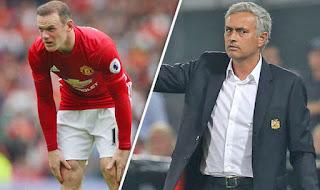 Mourinho Isyaratkan Tidak Mainkan Rooney