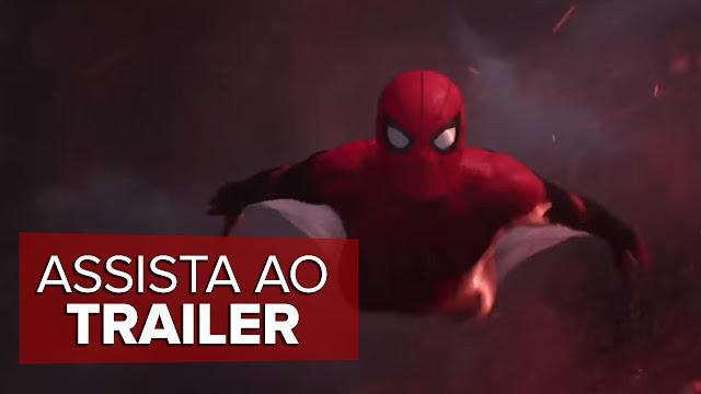 Finalmente o trailer de Homem Aranha Longe de Casa foi lançado. O nosso Cabeça de Teia vai se aventurar na Europa – Confirma!