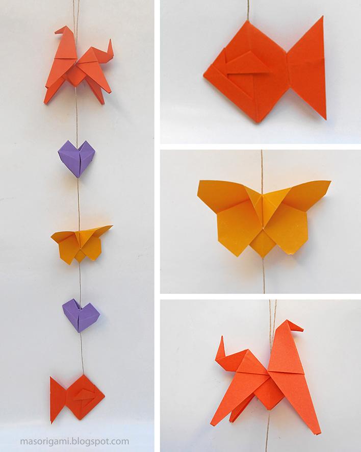 Mas origami propuestas m viles de origami - Origami para todos ...