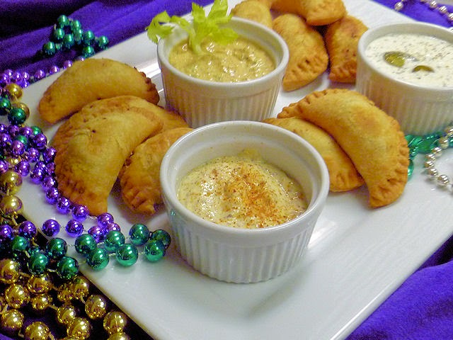 Natchitoches Meat Pies w/ 3 Dipping Sauces