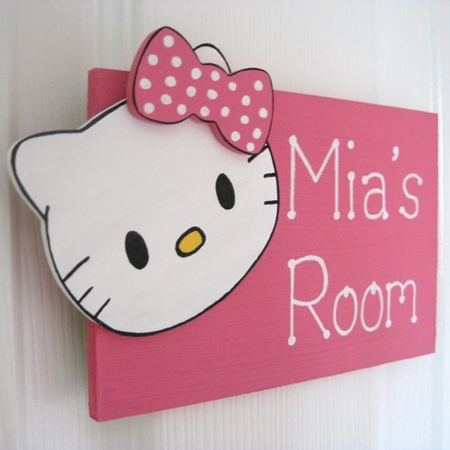 DORMITORIOS HELLO KITTY BEDROOMS via www.dormitorios.blogspot.com
