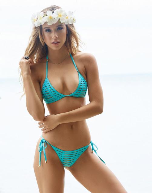 Alexis Ren – Beach Bunny Swimwear 2016