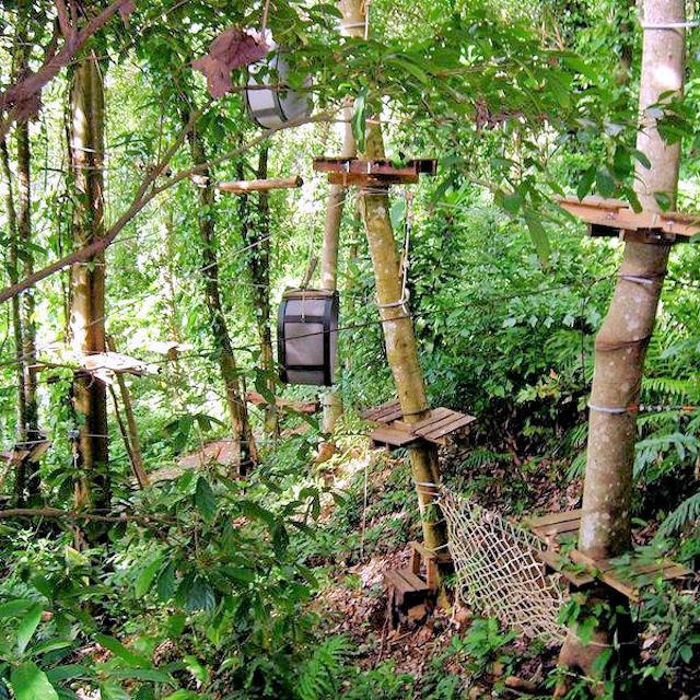 Treetop Adventure Park Koh Chang