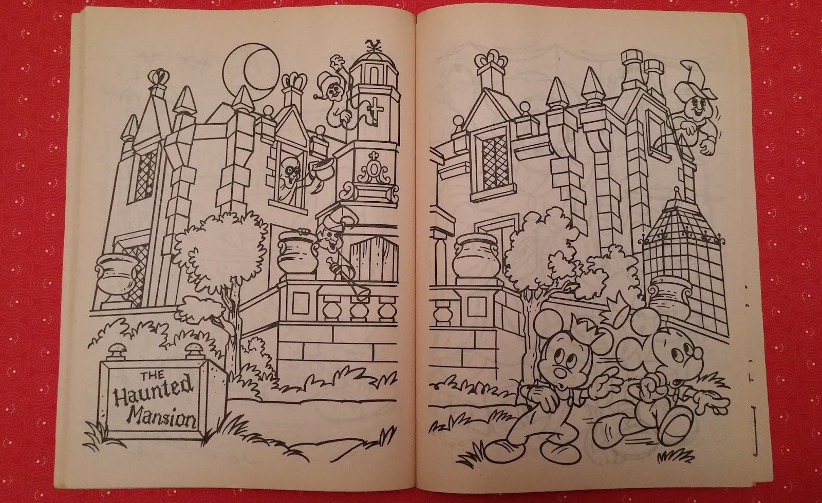 Walt Disney World A Coloring Book 1983