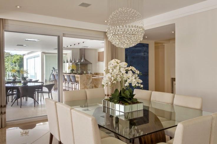 Construindo minha casa clean consultoria de decora o das for Cortinas comedor baratas