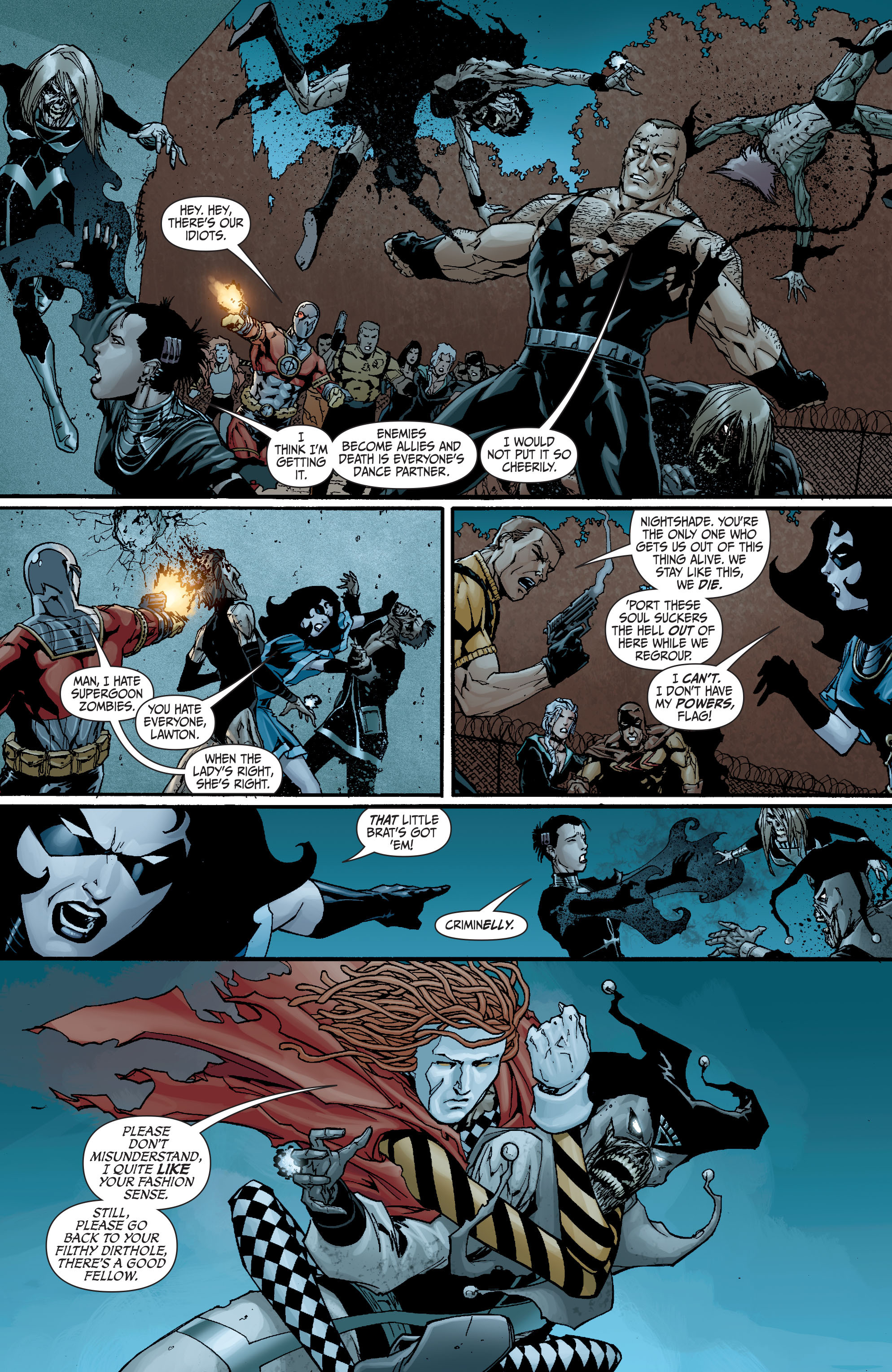 Read online Secret Six (2008) comic -  Issue #18 - 6