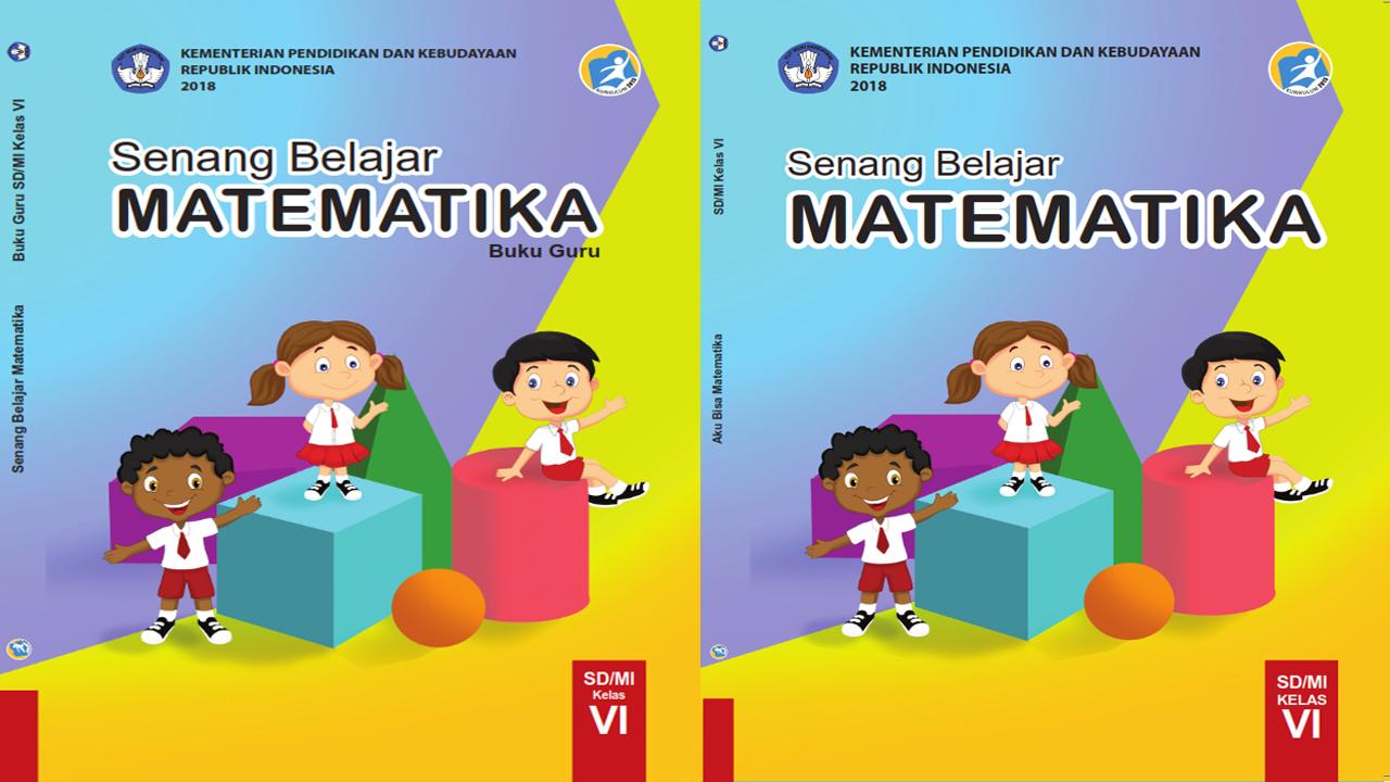 Buku Matematika Kelas 6 Kurikulum 2013 Buku Siswa dan Guru