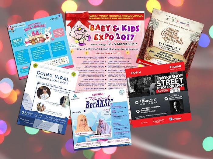 Jadwa Event Bandung Bulan Maret 2017