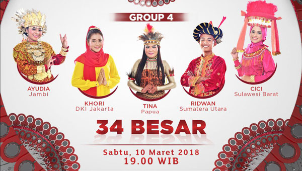 Liga Dangdut Indonesia grup 4 10 maret 2018