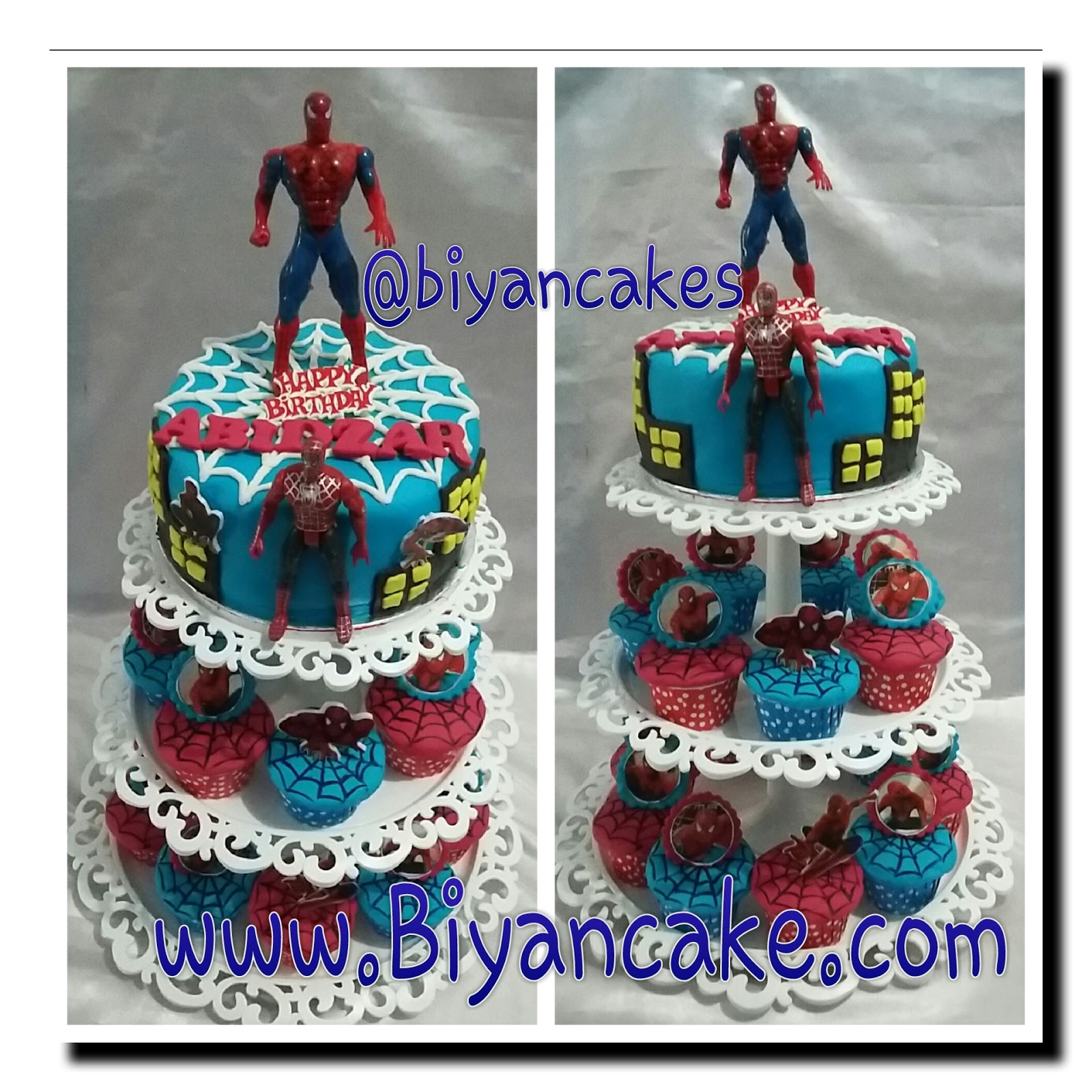 Cupcake spiderman ~ Abidzar