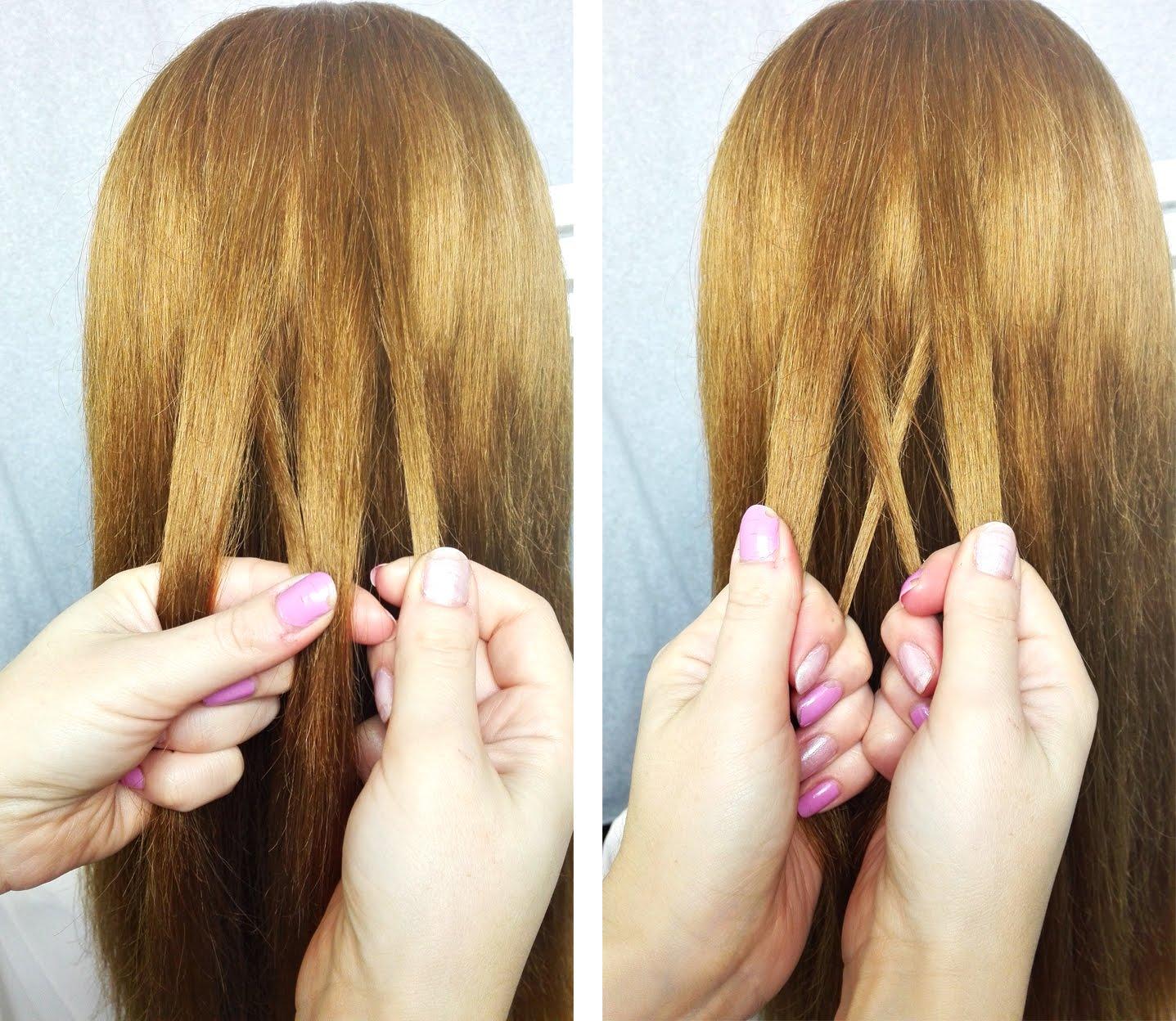 Dobierany Odwrócony Kłos Krok Po Kroku Hair By Jul