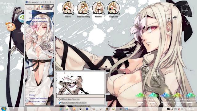 Windows 8.1 Theme Drakengard 3 Zero by Andrea_37