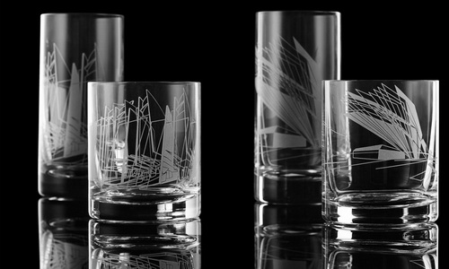 Tinuku.com Koleksi Pecah Belah Zaha Hadid dalam Ilusi Optik di Maison & Objet Paris 2016