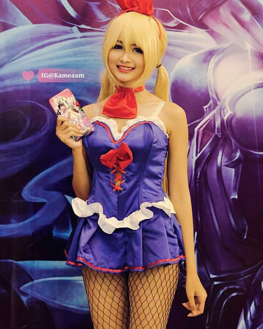 cosplay mobile legends layla bunny girl