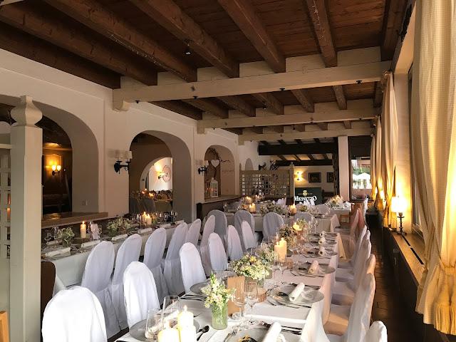Hochzeitsdinner im Seehaus, Hochzeit in Gelb, Sommer, Sonne, Natur, Sommerhochzeit am See in den Bergen, Riessersee Hotel Garmisch-Partenkirchen, Hochzeitsplanerin Uschi Glas