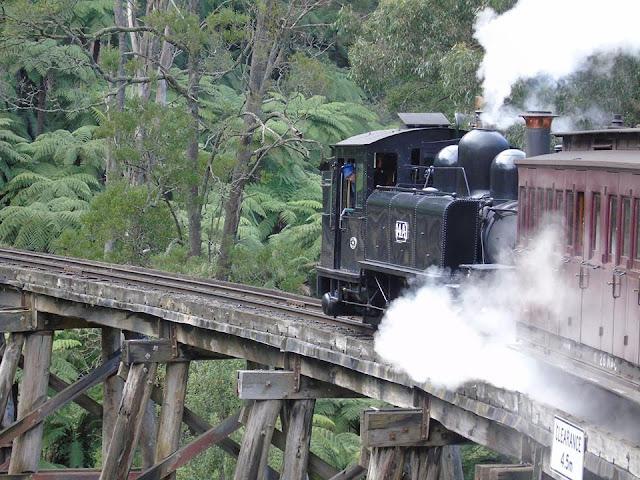 Puffing Billy Heritage Railway Melbourne Australia
