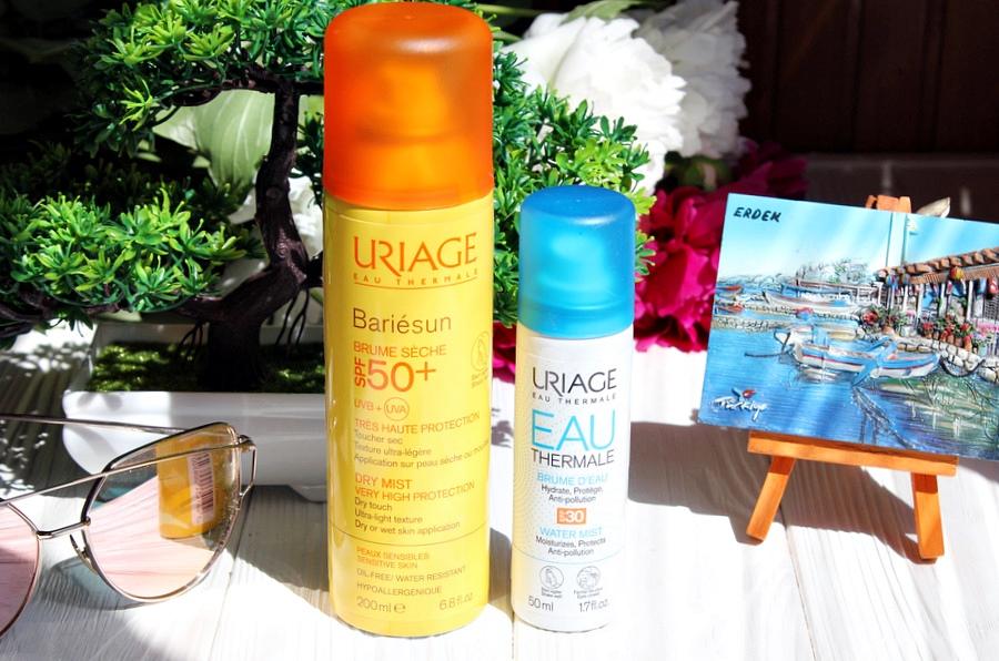 Настроение: лето. URIAGE EAU THERMALE увлажняющий спрей для лица SPF 30 и Барьесан солнцезащитный спрей-дымка SPF 50+ / обзор, отзывы
