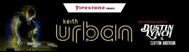 Keith Urban Headlines Firestone Legends Day Concert