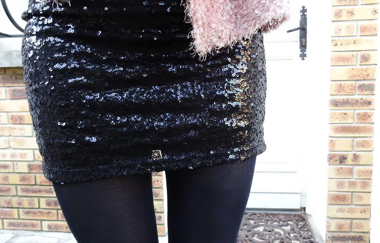 Look : Sequins & fourrure pour les fêtes !