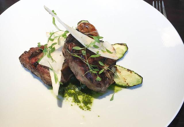 marcus wareing tredwells restaurant lamb chop