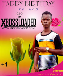 Happy Birthday! Francis Sunday  CEO Xbossloaded.com Is A Year Older Today (Drop Your Wishes)