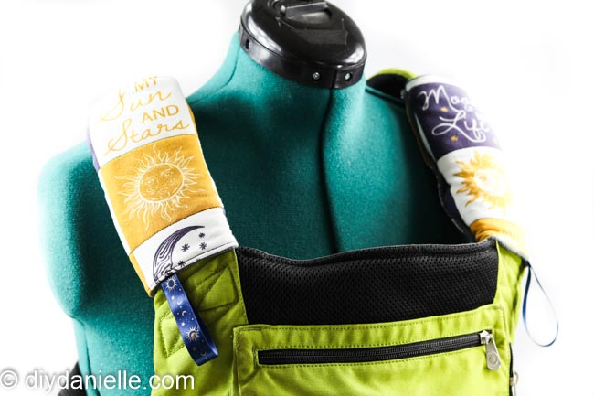 DIY Ergobaby Carrier Drool Pads