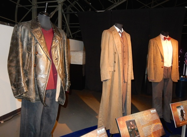 Ninth Tenth Eleventh Doctor Who costumes