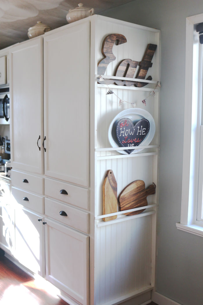 My DIY Kitchen Cabinet Crown Molding How to Fake the