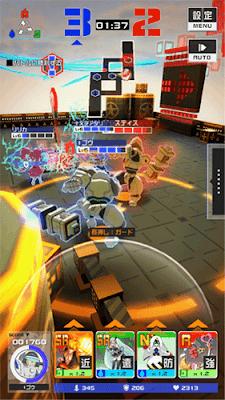 「#コンパス」ゲーム画面