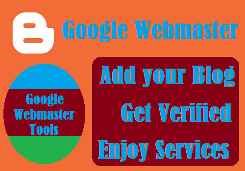How to add blog to Google webmaster and verify blog ownership at Google webmaster
