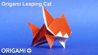 Tutorial para hacer un origami de un gato