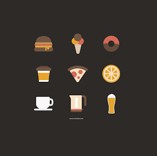 Free Food and Cooking Icon Sets for  Apps and Websites 01