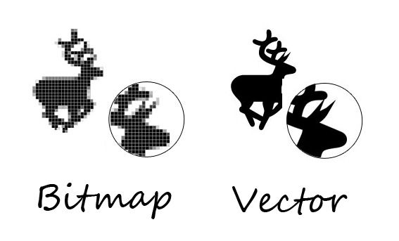 Apa Itu Gambar Vektor Dan Bitmap Penjelasan Dan Perbedaan Grafik Berbasis Bitmap Dan Vektor Rizal Design
