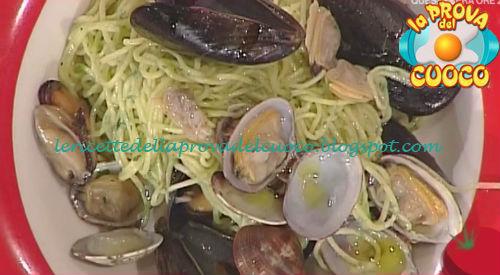 Tagliolini prezzemolati con cozze e vongole ricetta Zoppolatti da Prova del Cuoco