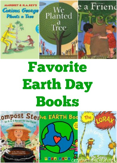 Favorite children's books for Earth Day.