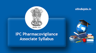 IPC Pharmacovigilance Associate Syllabus