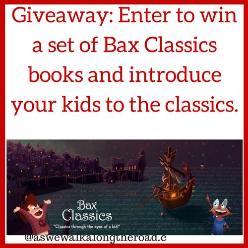 Giveaway of Bax Classics books